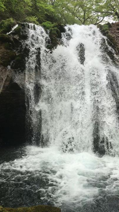 これが名水の滝!!