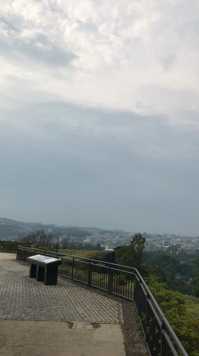 天守台からの眺め
