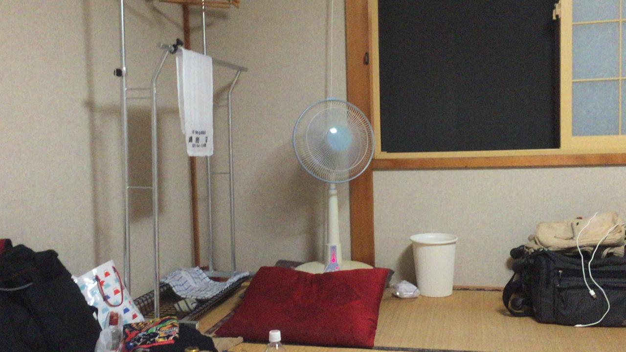 扇風機が…
