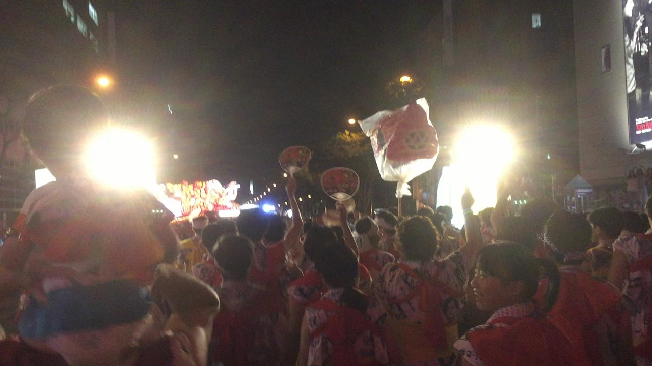 青森ねぶた祭の写真・動画_video_1162