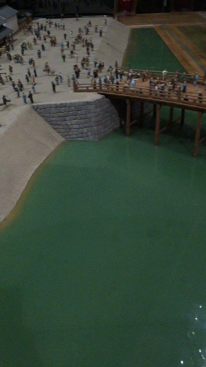 〔江戸〕昔の日本橋の街並み