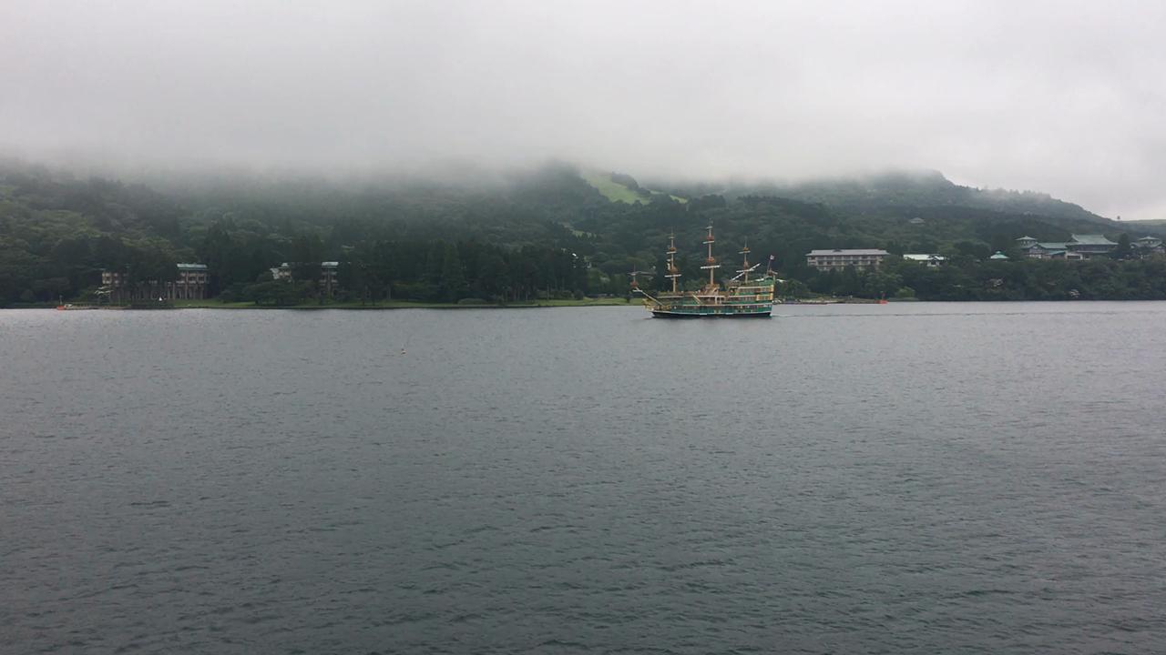 箱根海賊船の写真・動画_video_1914