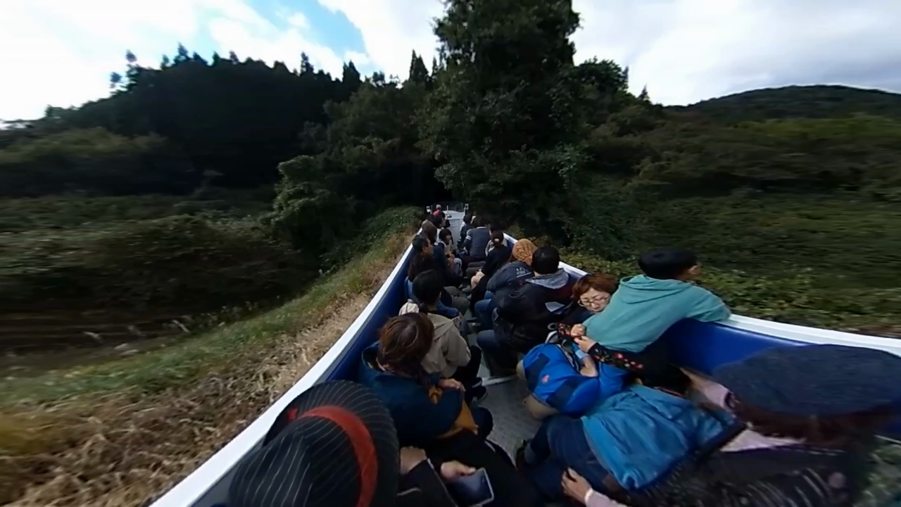 あまてらす鉄道 トンネル 360度動画