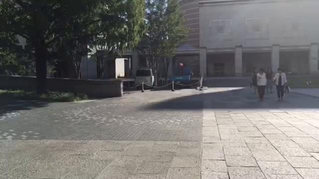 横浜にアメリカの路地?