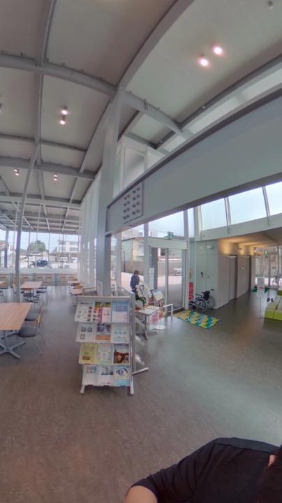 まちなか交流センター くるる 館内360°写真