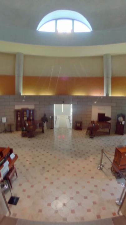 那須オルゴール美術館 エントランスホール