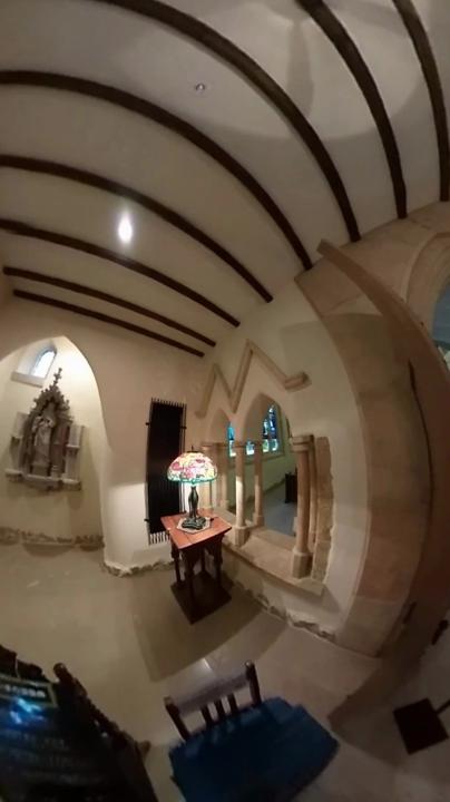 那須ステンドグラス美術館 1階メインホール 動画