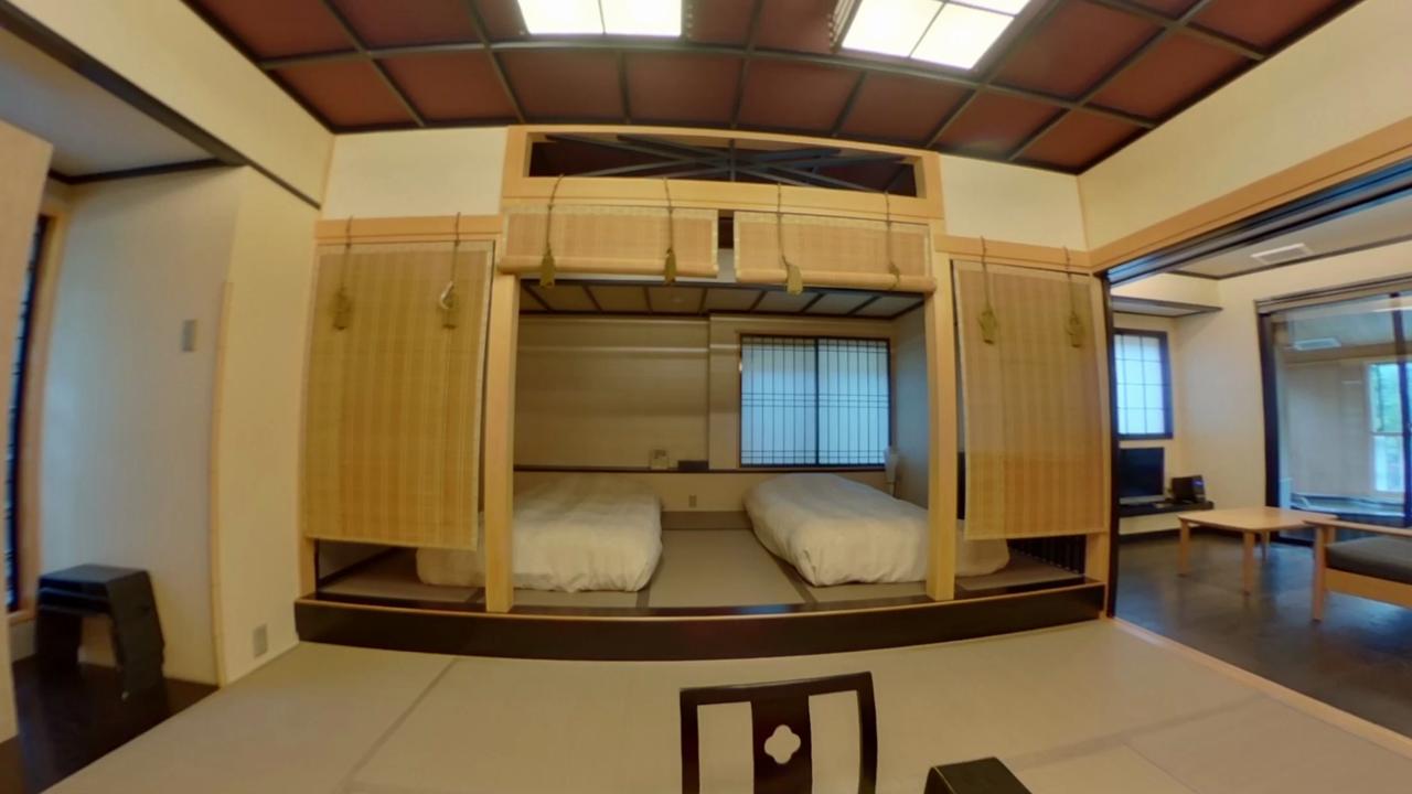 小槌の宿 鶴亀大吉 個室露天風呂付 部屋 360°写真