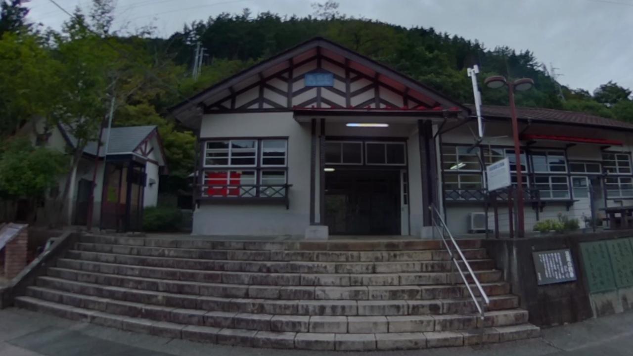 通洞駅 わたらせ渓谷鐵道 360°写真