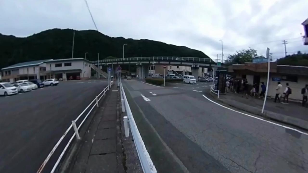 通洞駅〜足尾銅山観光 トロッコ乗り場 動画