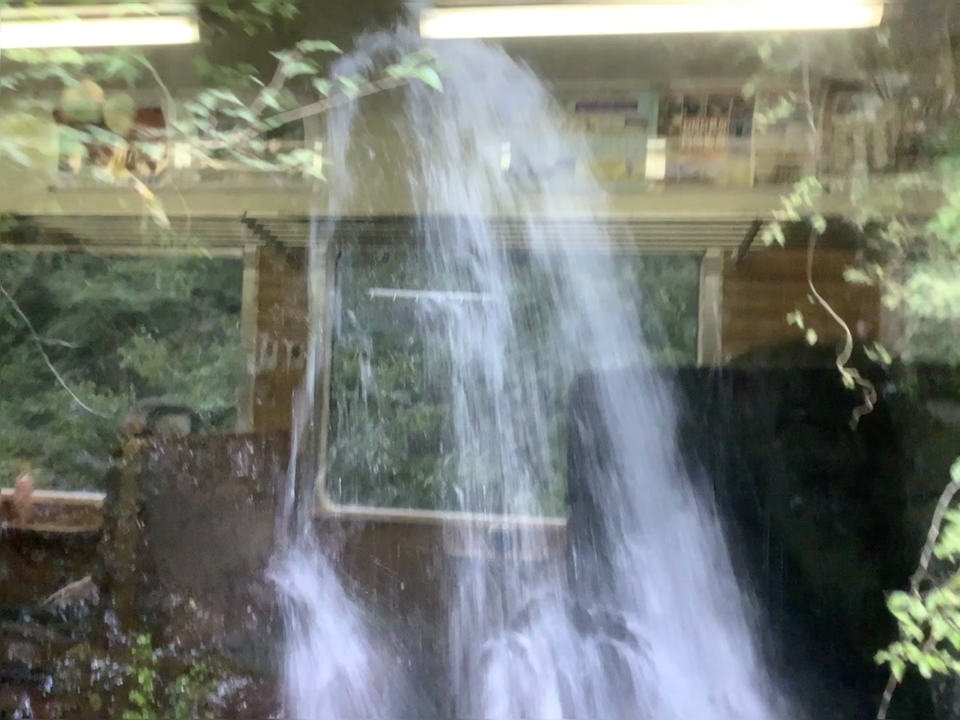 わたらせ渓谷鐵道 車両からの景色②