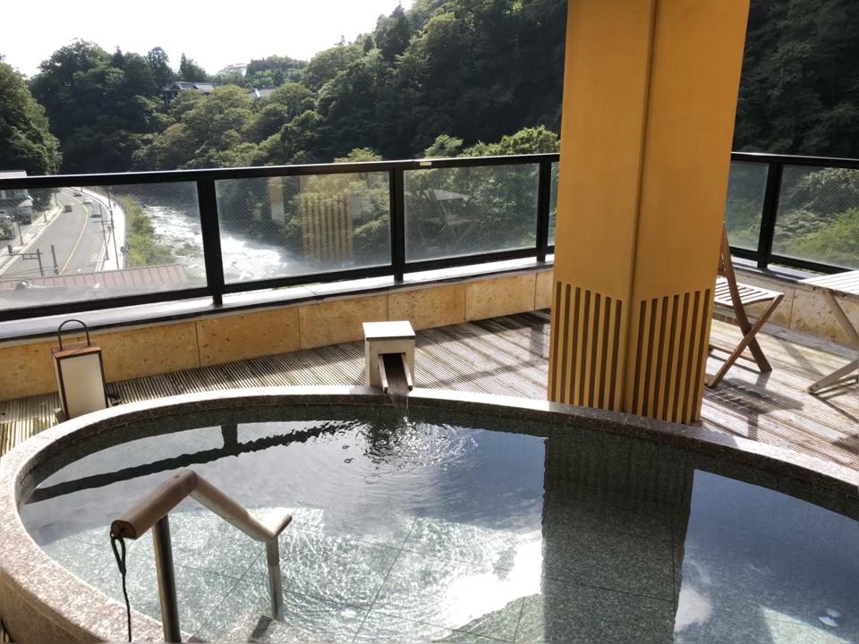 小槌の宿 鶴亀大吉 大浴場 露天風呂