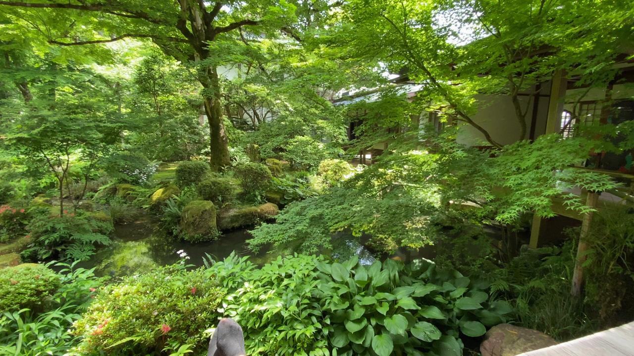 ◎天国のように感じた庭園