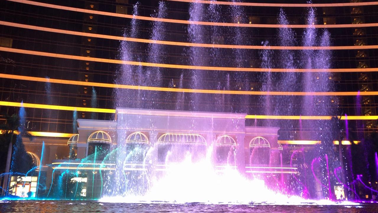 ウィンマカオ噴水