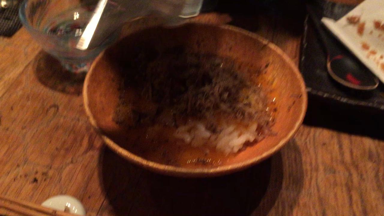 トリュフ卵かけご飯〜〜!!!💓