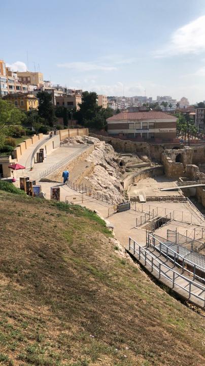 〈世界遺産〉Amfiteatre de Tarragona