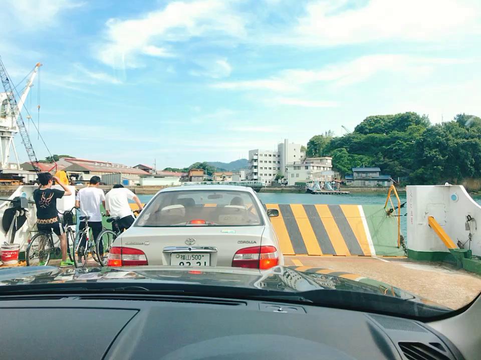 尾道渡船フェリー乗り場