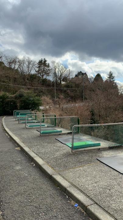 箱根園ゴルフ場練習場