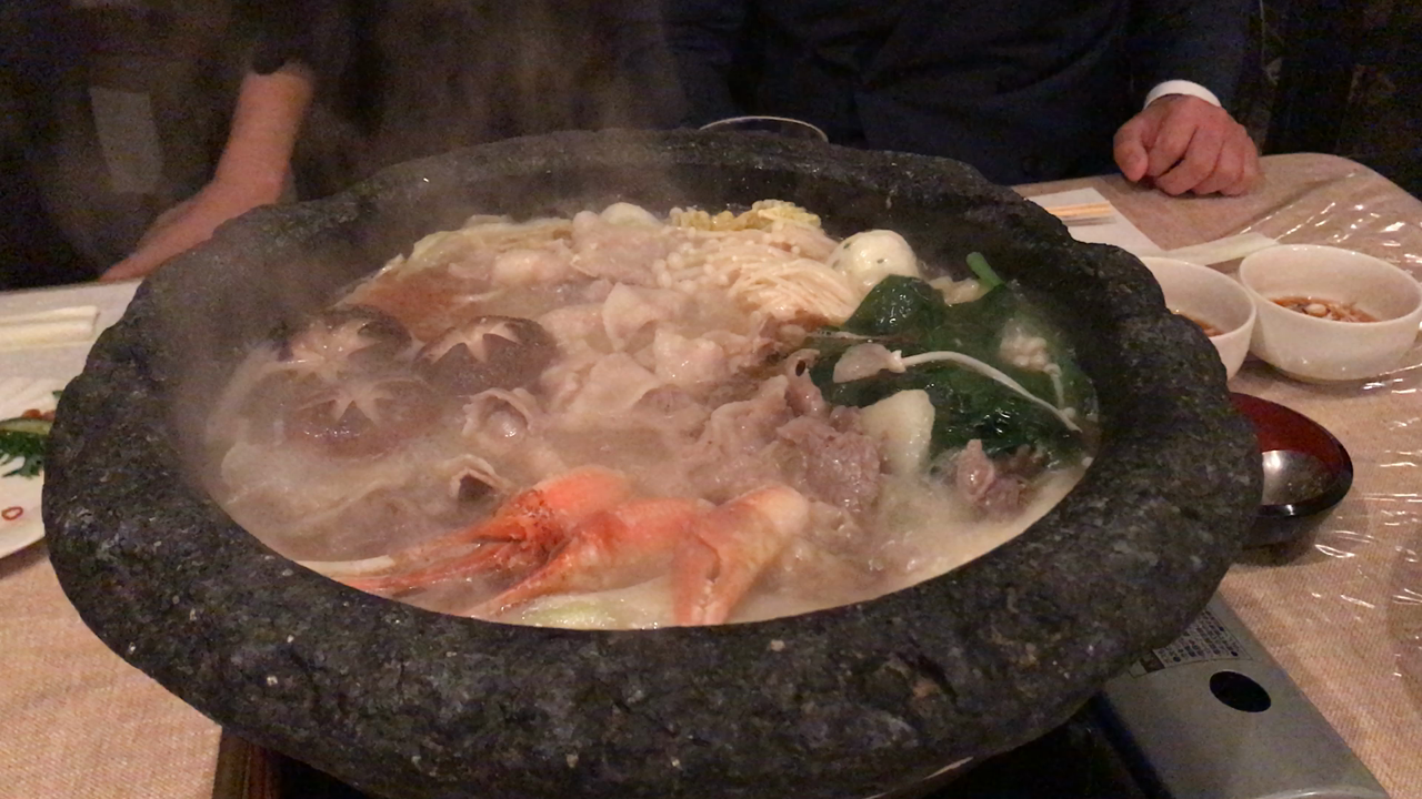 【ごま油鍋】石頭楼