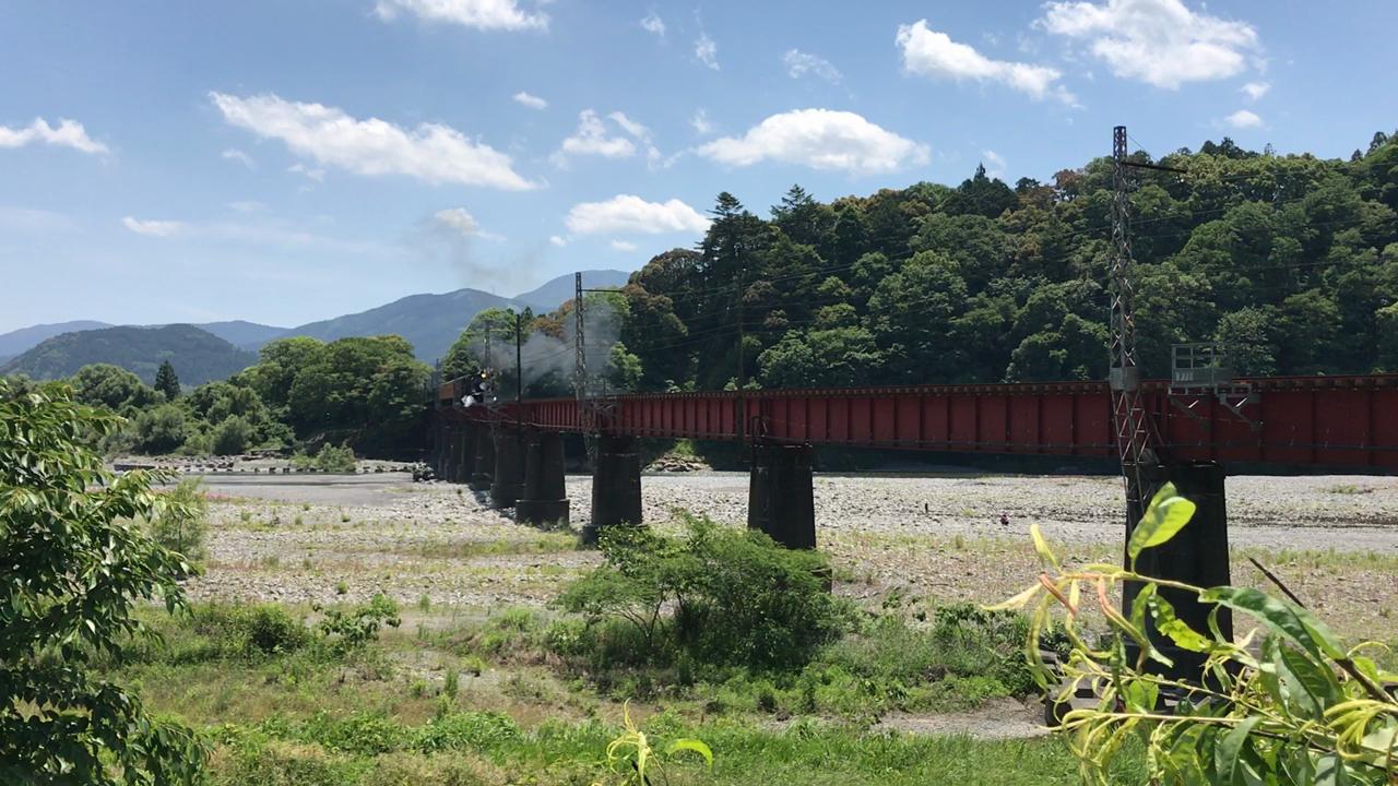 大井川鐵道 大井川第一橋梁