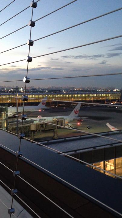 展望デッキ 羽田空港国際線ターミナル
