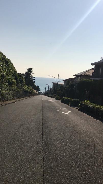 ゆずの「夏色」の坂道